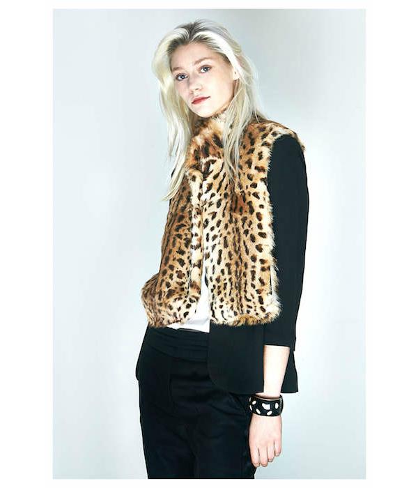 liseuse leopard